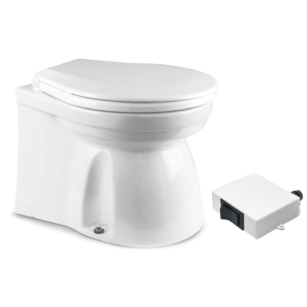 Marine Toilet Small Skirted Bowl