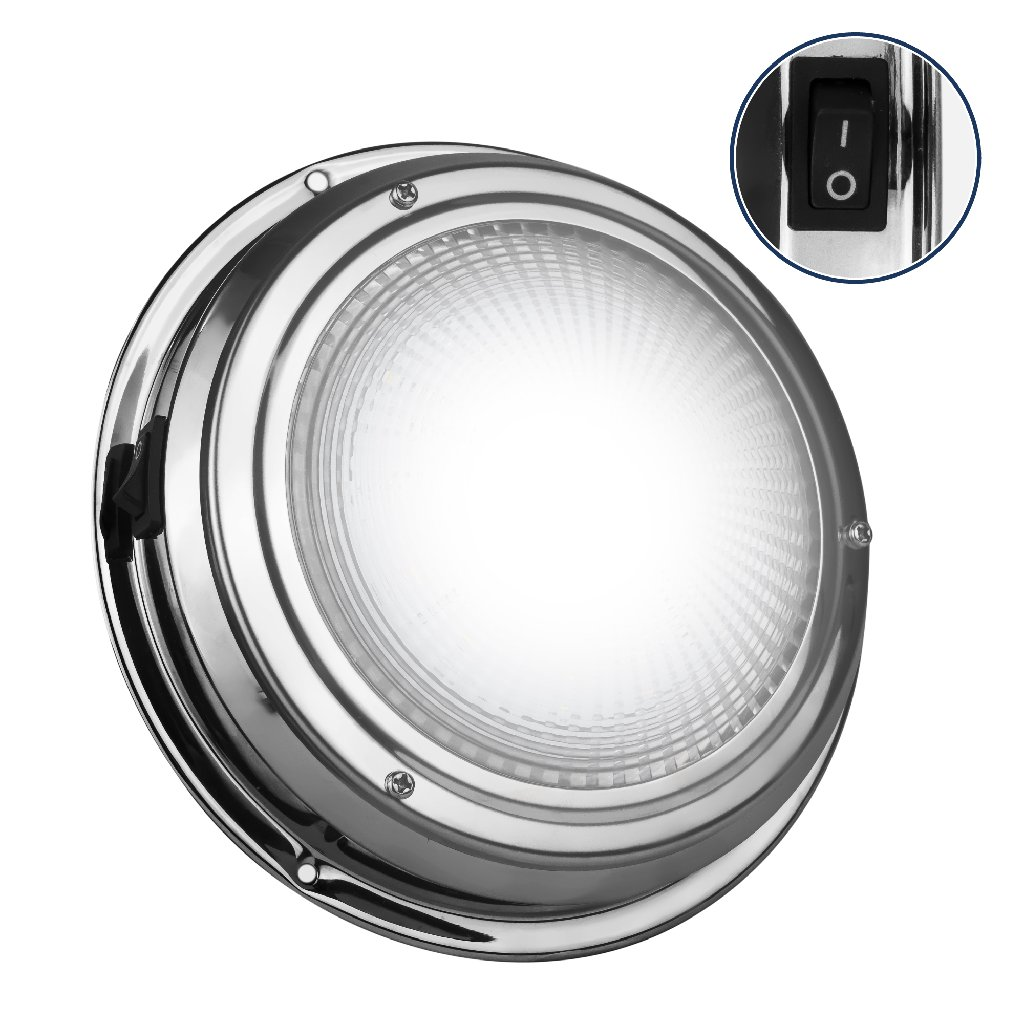 Pair Five Oceans FO-2627-M2-1 Interior Bezel LED Dome Light 5/""